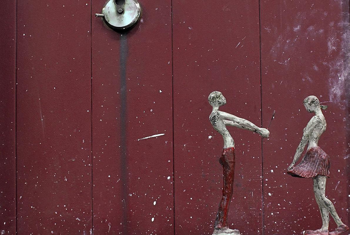 Il Dono Bronzo, cm 37x28x13, 2012
