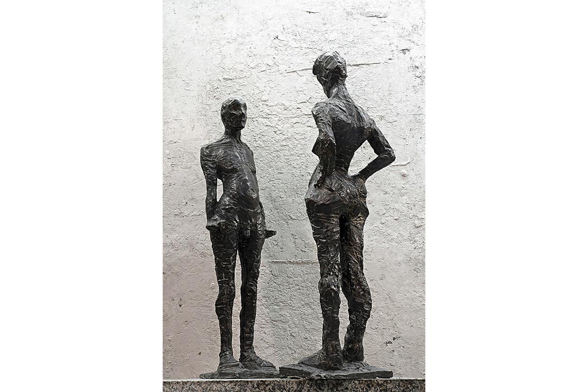 Prima donna, Sarah Del Giudice, Sculture, Firenze