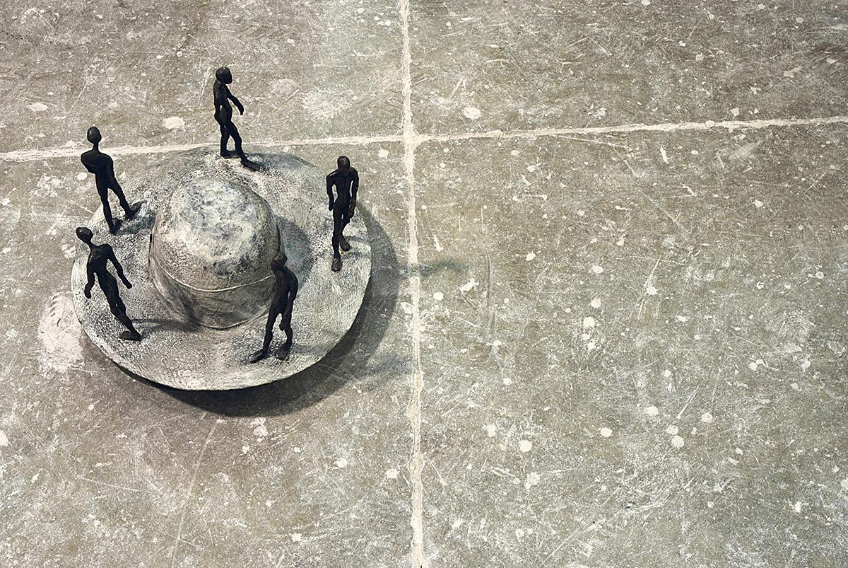 Idee Bronzo, cm 24x38, 2008